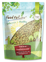 Food to Live Lentil Green Whole (1 Pound) - $9.60