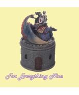 Knight Blue Dragon Castle Polyresin Round Mediu... - $32.95