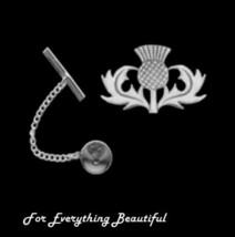 Oban Thistle Scotland Design Antiqued Mens Ster... - $60.00