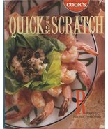 Quick From Scratch   Cook's Magazine  Vintage C... - $10.08