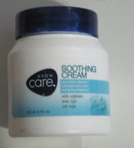 Cold Cream Cleanser with Soybean Avon Care Soothing All Skin Types 3.4 f... - $8.20
