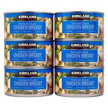 KIRKLAND SIGNATURE PREMIUM CHUNK CHICKEN BREAST IN WATER 12.5oz 6 Pack