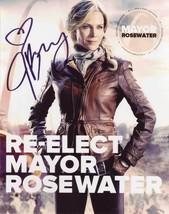 Julie Benz In-person AUTHENTIC Autographed Photo COA Defiance SHA #86719 - $55.00