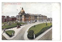 MA Boston State House Vtg UDB Bosselman Postcard ca 1905 - $4.99