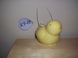 Hallmark Easter Chick Ceramic Basket - $9.99