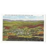 MA Mohawk Trail View of North Adams Vintage White Border /  Linen Postcard - $4.99