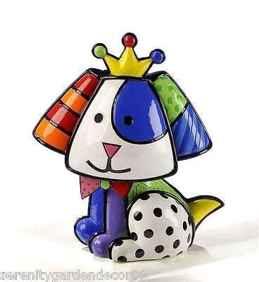 Romero Britto  Royalty Beagle  Dog Figurine #331121 NEW