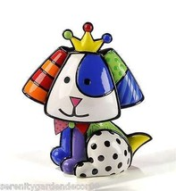 Romero Britto  Royalty Beagle  Dog Figurine #331121 NEW