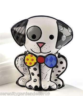 Romero Britto Dalmatian Dog Figurine #331126 NEW