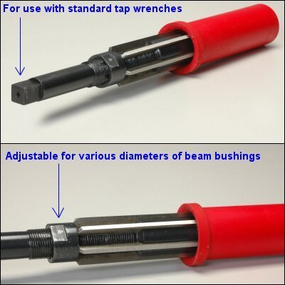Primary image for Front Axle Beam Bushing Reamer For 1.50 Up To 1.813 Diameter For 1.75 Pivot Heav