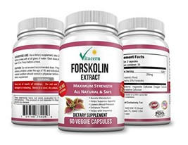 Pure Forskolin Extract 250mg per serving 20% standardized | Get Super Tr... - $29.99