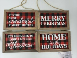 Northwoods Lodge Rustic Style Christmas Tree Ornaments - New - $9.99