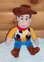"Toy Story Disney Woody Plush Cowboy 14"" Safe Fun Huggable PlayMate Kohls... - $6.95"