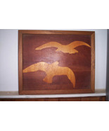 Seagulls- Inset solid wood - $20.00