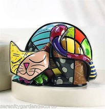 Romero Britto Cat - Tim - 3 Dimensional Figurine #339023 NEW