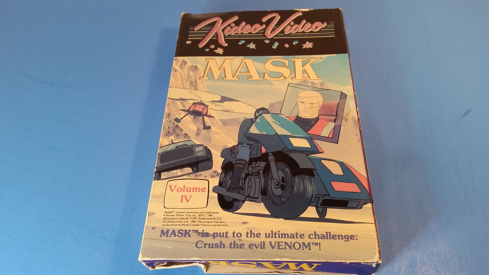 Primary image for MASK ~ Volume IV 4 ~ RARE Kideo Video VHS Movie ~ 80's Animated Cartoon Show