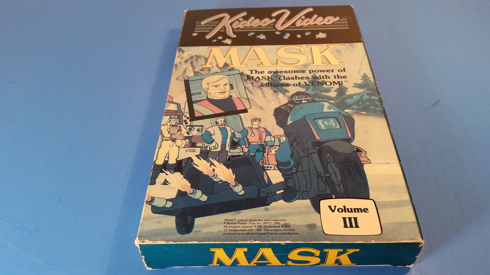 Primary image for MASK ~ Volume III 3~ RARE Kideo Video VHS Movie ~ 80's Animated Cartoon Show
