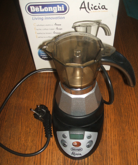 Espresso Coffee Maker Delonghi Moka Alicia Emke42 Digital Programmable Electric