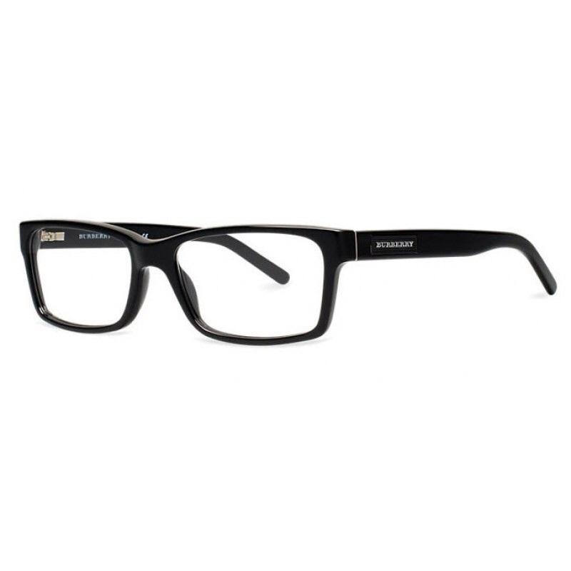 Burberry Glasses Frame Parts : Burberry BE2108 3001 Black Eyeglass Frame 52mm - Eyeglass ...