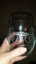 Beautiful Etched Wine Glass Sets  - $12.00