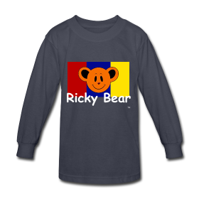Ricky bear kids long sleeve tee