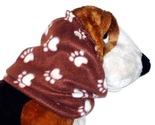 Browncreampawprintsfleecesnood thumb155 crop