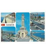 Turkey Izmir Multiview Clocktower City Views Vtg Postcard 4X6 - $4.99