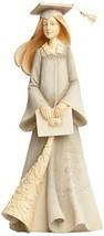 Enesco Foundations by Karen Hahn Graduation Girl Figurine, 7.68-Inch  - $36.95