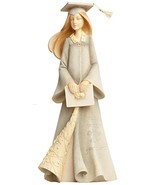 Enesco Foundations by Karen Hahn Graduation Girl Figurine, 7.68-Inch  - $36.95