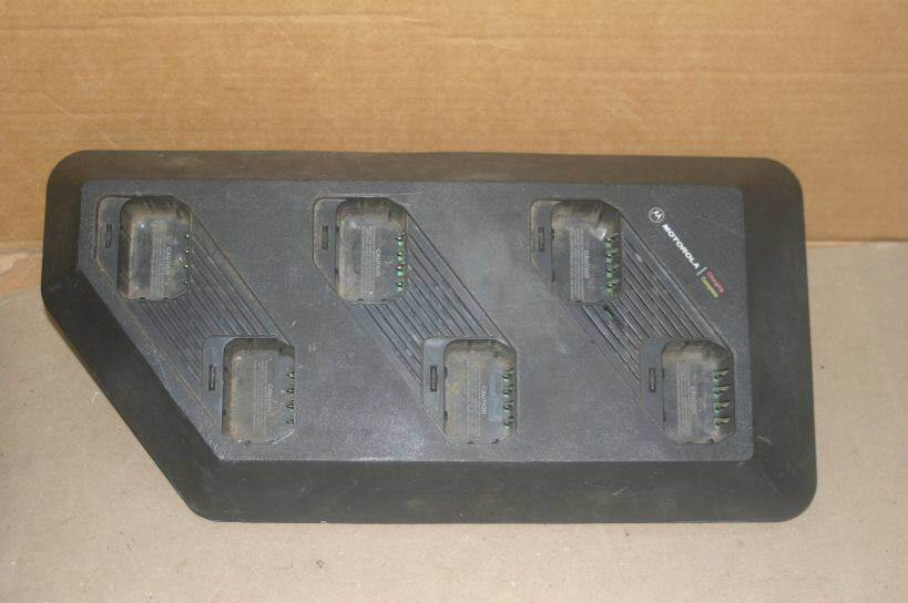 Primary image for Motorola 6-Bay Gang Multi-Radio Charger HTN9748B