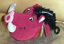 Lion King Pumbaa Teachers Pet Wild Animal Jokes Mini Book Clip-On w/ Sound - $7.99