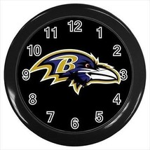 Baltimore Ravens Wall Clock Wall Clock - NFL Football - Home and Office - $17.41
