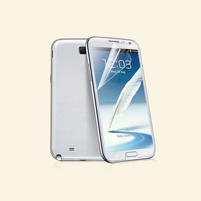 Primary image for Clear Crystal LCD Screen Protector Guard Shield For Samsung Galaxy Note 2 II 4G