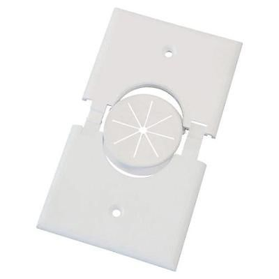 Primary image for 1Gspwh-Gr10 Single Gang Splitport Plus With Grommet (White) by Midlite