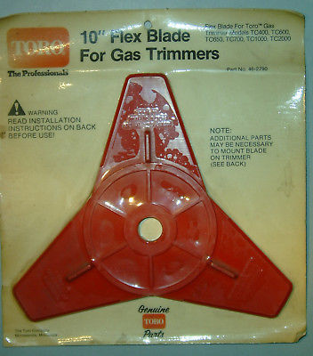 "Primary image for Toro Trimmer 10"" Flex Blade p/n 46-2790 ""NEW""   B2#1 1 DAY SHIPPING"
