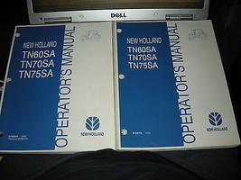 OEM New Holland TN60SA TN70SA TN75SA Operators Owner Manual (2 Manuals) ... - $23.36