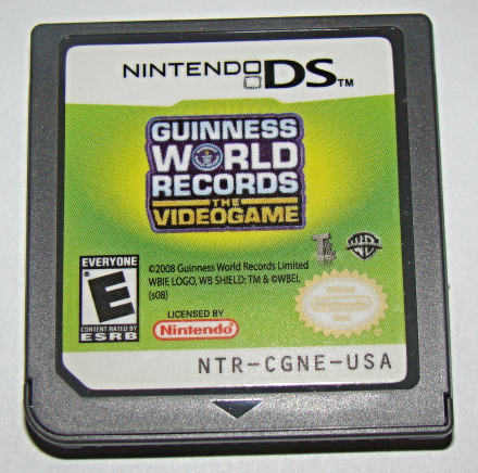 Primary image for Nintendo DS - GUINESS WORLD RECORDS THE VIDEO GAME (Game Only)