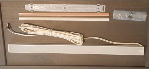 "IKEA OMLOPP LED Counter-top Light White 15"" 402.957.26 Low Profile Mount Modern"