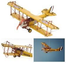 """11"""" Curtiss JN-4 DISPLAY MODEL AIRPLANE Metal Fighter Aircraft Decor Col... - $84.95"""