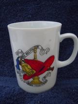 Vintage Creative Fine China Fireman's Helmet Mug No.6 - $3.99