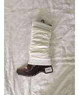 WJNS Leg Warmers White Mult-Color - $3.50