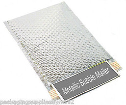 """Metallic  Bubble Mailers Shipping Envelope Bags 13"""" x 17.5"""" Silver 500 P... - $442.93"""