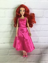 Disney Store The Little Mermaid Princess ArielDoll Articulated Pink Dre... - $19.79