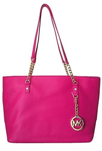 Primary image for Michael Kors Jet Set East West Chain Tote Raspberry