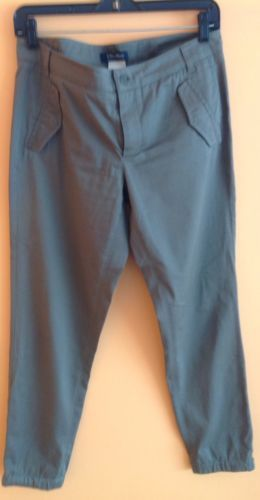 Primary image for EUC 'S MaxMara Olive Green Cotton Blend Chino Pants SZ 8