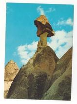 Turkey Zelve Monastery Fairy Chimney Urgup Avanos Vtg Postcard 4X6 - $5.69