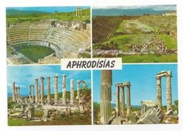 Turkey Karacasu Aphrodisias Multiview Greek Ruins Vtg Postcard 4X6 - $4.99
