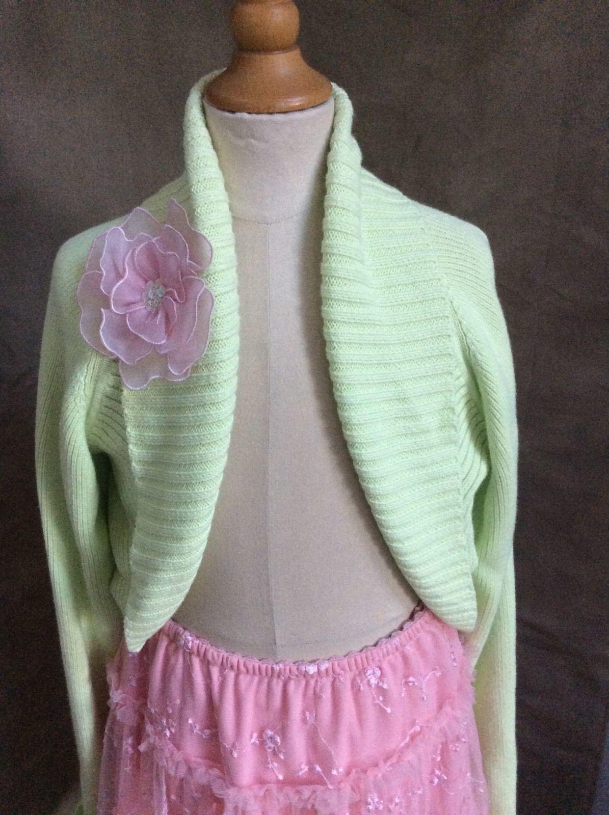 38da67d6514e Girls Shrug Sweater Cardigan Pink Light and 29 similar items. S l1600