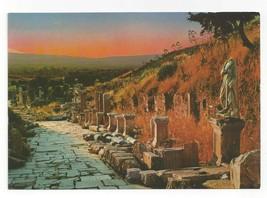 Turkey Efes Ephesus Arcadian Harbor Street Vtg Postcard 4X6 - $4.99