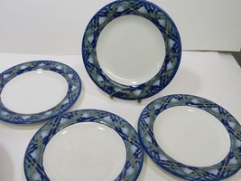"Set of 4 Royal Doulton Everyday Gen Ora 1994 Salad Lunch Plates 8"" - $42.06"